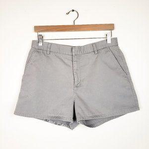 Vintage Calvin Klein Jeans Gray Flat Front Shorts
